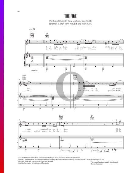 The Fire Sheet Music