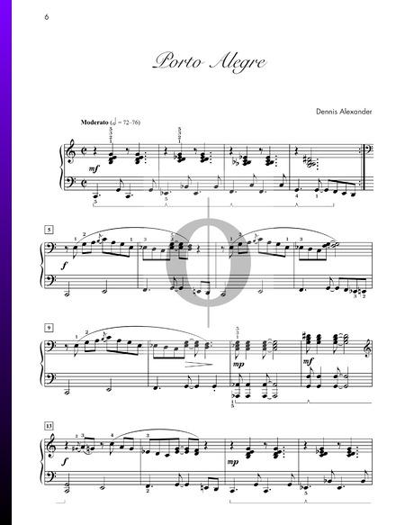 Porto Alegre Sheet Music
