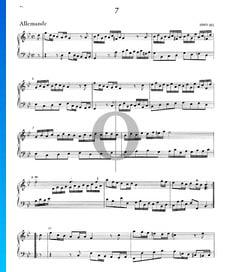 Suite g-Moll, HWV 452: 1. Allemande