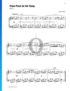 Piano Piece For The Young (No. 13)