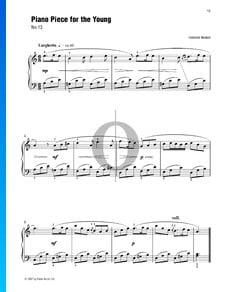 Piezas de piano para los jóvenes (n.º 13)