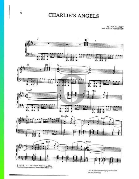 Charlie's Angels Sheet Music