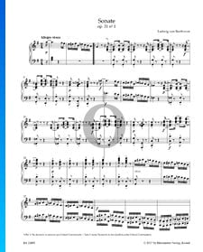 Sonata, Op. 31 No. 1: 1. Allegro vivace