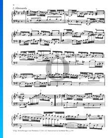 Partita 6, BWV 830: 2. Allemanda