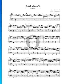Preludio 5 en re mayor, BWV 850