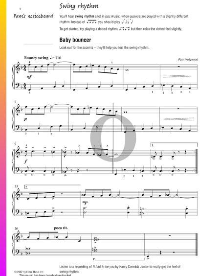 Baby Bouncer Sheet Music