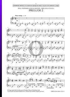 Präludium und Fuge 2 in c-Moll