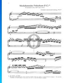 Modulating Prelude (F-C), KV 624 (626a)