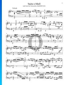 Suite en Do mineur, BWV 1011: 1. Prélude