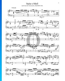 Suite in c-Moll, BWV 1011: 1. Prelude