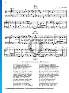 Aria: So oft ich meine Tabackspfeife, BWV 515