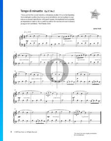 Tempo di Minuetto, Op. 37 Nr. 2