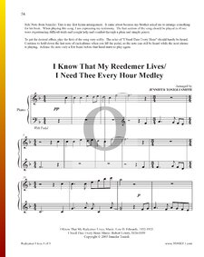 I Know That My Reedemer Lives - I Need Thee Every Hour (Medley)