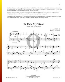 Be Thou My Vision (Take Time To Be Holy)