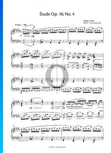 Ètude, Op. 10 Nr. 4